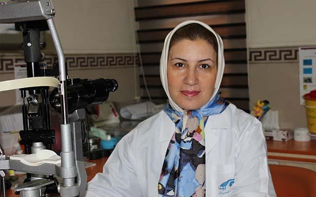 الدكتوره منيجه كمالي علمداري