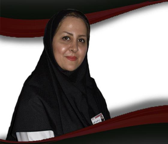 السيدة ندا شيرين آبادي